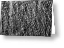Falling Rain 04 Greeting Card