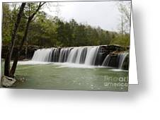 Falling Water Falls Greeting Card