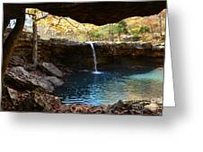 Falling Water View Greeting Card