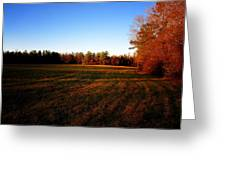 Fallow Field Greeting Card