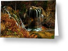 Falls At Hanging Lake Greeting Card
