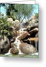 Falls At Jackalope Ranch 2 Greeting Card