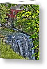 Falls.. Greeting Card