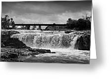 Falls Of The Big Sioux Greeting Card