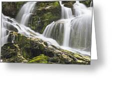Falls On Sauk River Washington Greeting Card