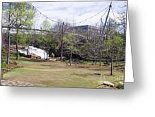 Falls Park On The Reedy Greenville Greeting Card