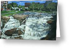 Falls River Park Greeting Card