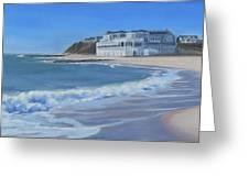 Falmouth Heights Beach Cape Cod Greeting Card
