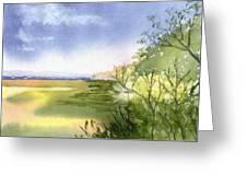 Falmouth View Greeting Card