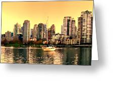 False Creek Triptych Centre Panel Greeting Card