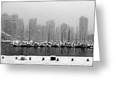 False Creek-winter Greeting Card