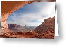 False Kiva In Canyonlands National Greeting Card