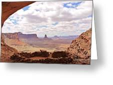 False Kiva Scenery Greeting Card