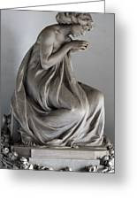 Famiglia Meretti Grave Marker Monumental Cemetery Milan Italy Greeting Card