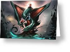 Family Dragon Greeting Card