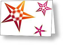 Family Of Stars Greeting Card
