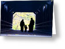 Family Time Greeting Card by Bill Cannon