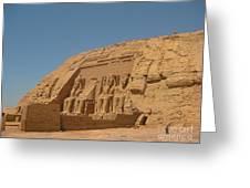 Famous Egyptian Landmarks Greeting Card