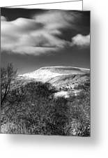 Fan Fawr Brecon Beacons 1 Mono Greeting Card