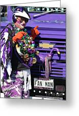 Fan Man 1 Greeting Card