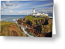 Fanad Lighthouse Donegal Ireland Greeting Card