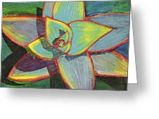 Fanciful Agave Greeting Card
