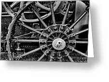 Fancy Big Wheel Greeting Card