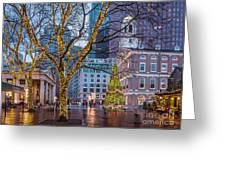 Faneuil Hall Holiday Greeting Card