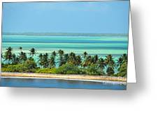 Fanning Island Greeting Card