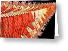 Fantasia Orange Greeting Card