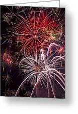 Fantastic Fireworks Greeting Card