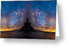 Fantasy Buddha Greeting Card