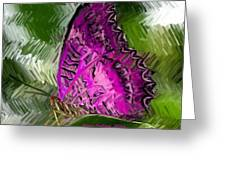 Fantasy Butterfly Greeting Card