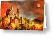 Fantasy Castle Greeting Card