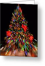 Fantasy Christmas Tree Greeting Card