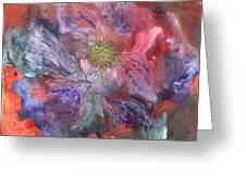 Fantasy Clematis Greeting Card