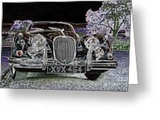Fantasy Dream Car Greeting Card