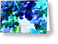 Fantasy Florals Greeting Card