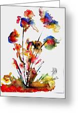 Fantasy Flowers 2 Greeting Card