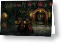 Fantasy - Into The Night Greeting Card