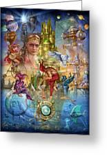 Fantasy Island Greeting Card