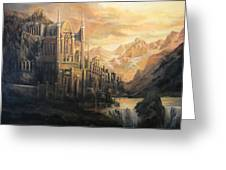Fantasy Study Greeting Card