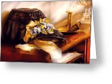 Fantasy - The Widows Bonnet  Greeting Card