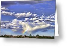 Farewell Rainbow Greeting Card