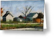Farm 03 Photo Art Greeting Card