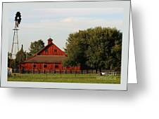 Farm-3582 Greeting Card