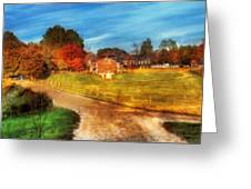 Farm - Barn -  A Walk In The Country Greeting Card