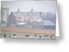 Farm Fed Greeting Card