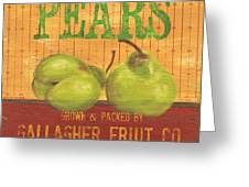 Farm Fresh Fruit 1 Greeting Card