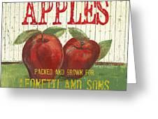 Farm Fresh Fruit 3 Greeting Card